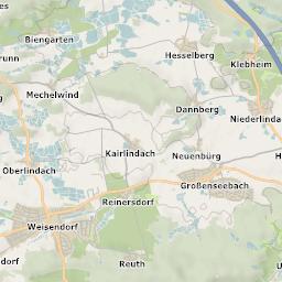 Mtb Bike Hiking County City Map Erlangen - Erlangen map