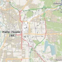 Halle Saale Karte.Mtb Rad Wander Kreis Stadt Karte Halle Saale
