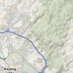 Mtb Bike Hiking County City Map Bandar Baru Bangi
