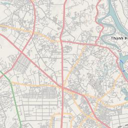 Mtb Bike Hiking County City Map Bien Hoa City