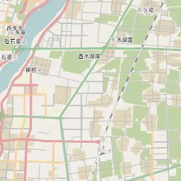 Mtb Bike Hiking County City Map Linyi - Linyi map