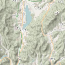Mtb Bike Hiking County City Map Jeonju